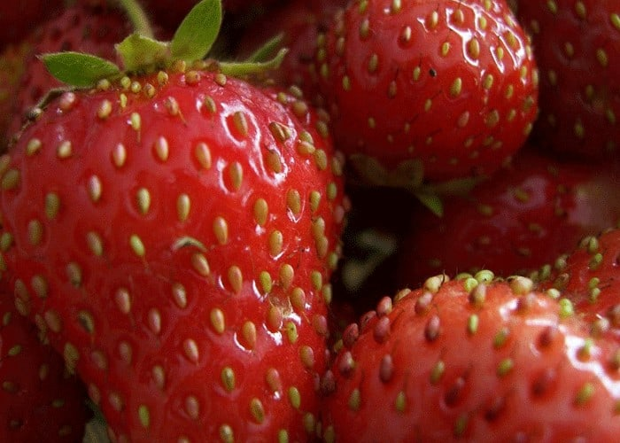 Strawberries and Baking Soda